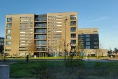 VvE Houtwal  Dit complex met 40 appartementen en onderliggende parkeergarage maakt deel uit van VvE Rundgraafpark. Beide bij ons in beheer.